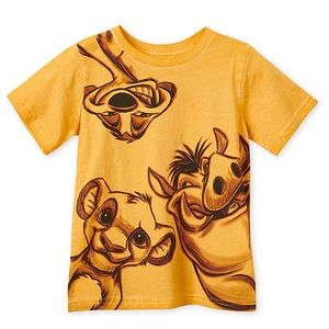 Simba Timon and Pumbaa TShirt for Boys